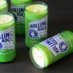 Patrick Hoesterey Beer Candle / Kerze aus Bierflaschen