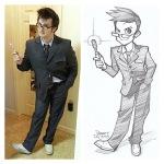 Mensch Manga Robert DeJesus