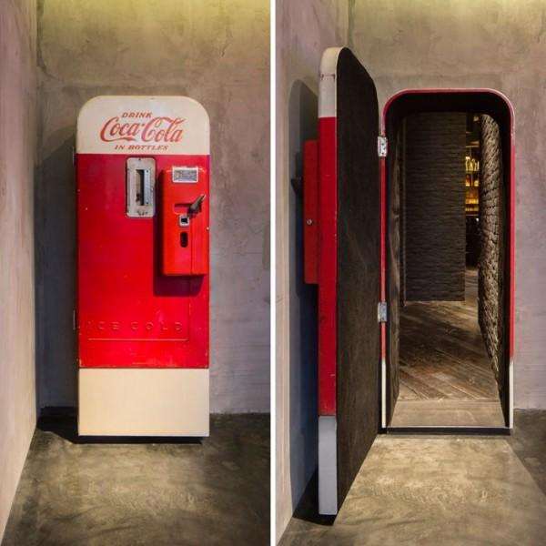 Coca Cola Kühlschrank Tür