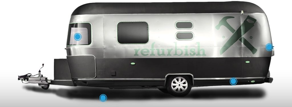 refurbish airstream project