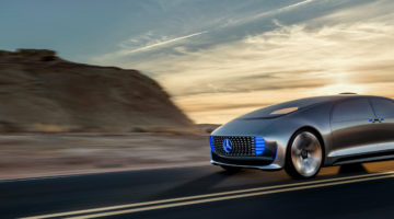 Mercedes Benz F 015 Luxery in Motion