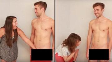 Lesben berühren Penis