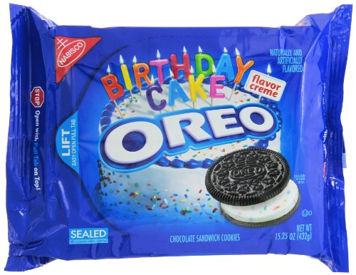 Oreo Birthday Cake (Chocolate) 15.25oz (432g)