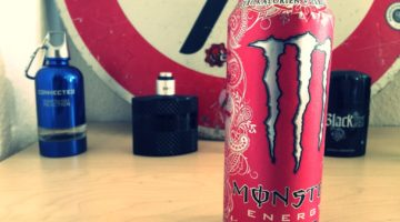 Knizz mit Stil - Monster Energy Ultra Red