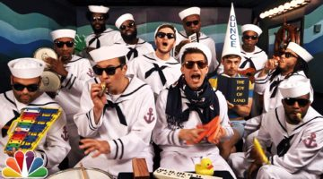 I'm On A Boat - The Lonely Island, Jimmy Fallon und The Roots