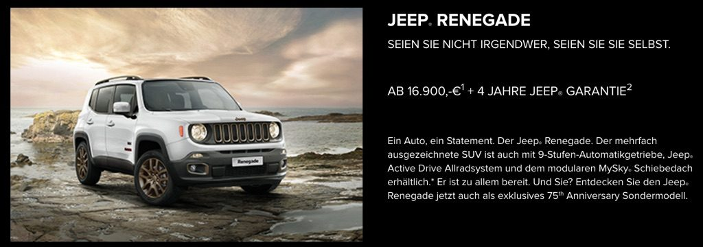 Jeep Renegade - Jeep Freedom Days