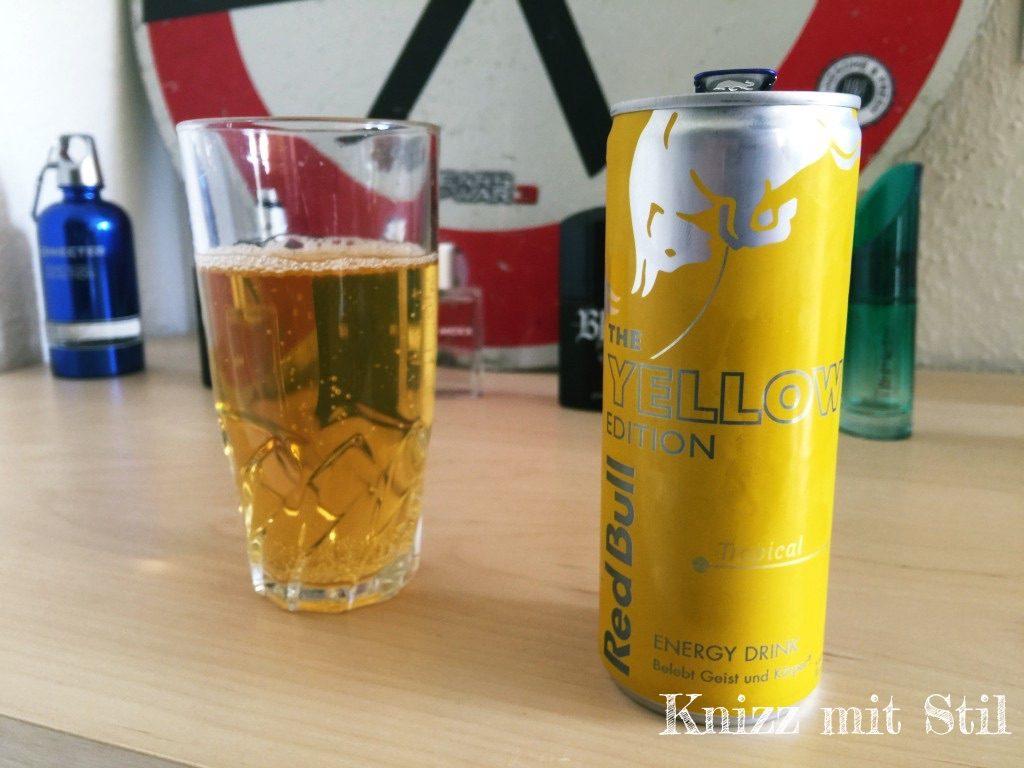 Red Bull Kühlschrank : Ausprobiert: red bull u2013 the yellow edition knizz mit stil