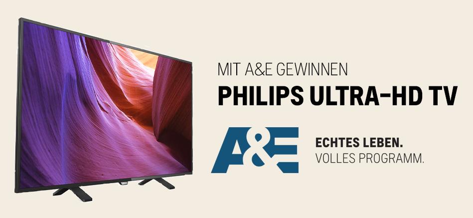 A&E - Gewinnspiel