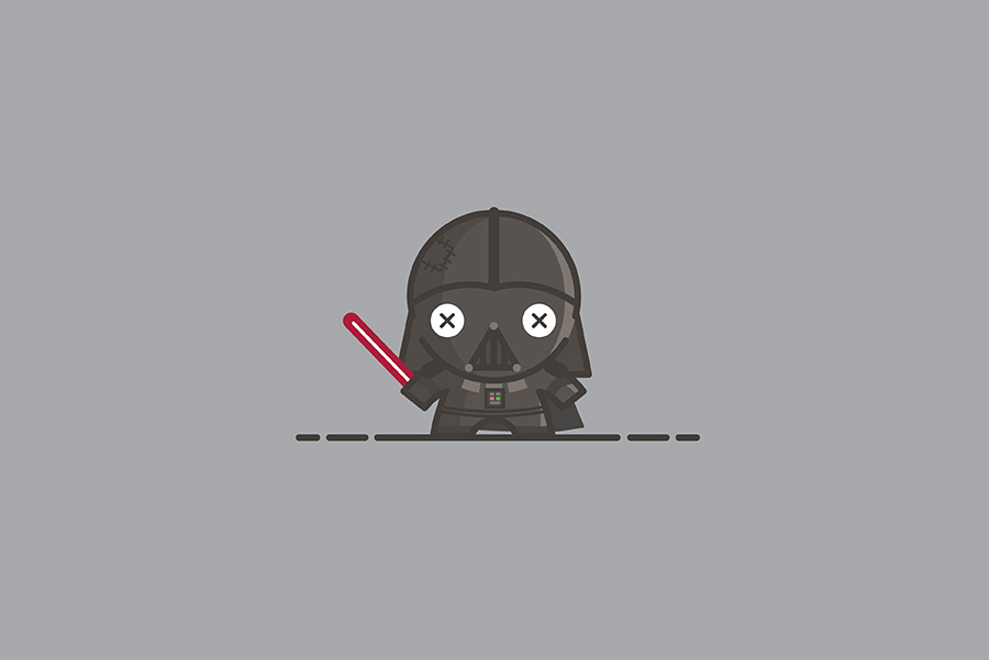 Voodoo Dolls by Sylvain Drolet - Darth Vader