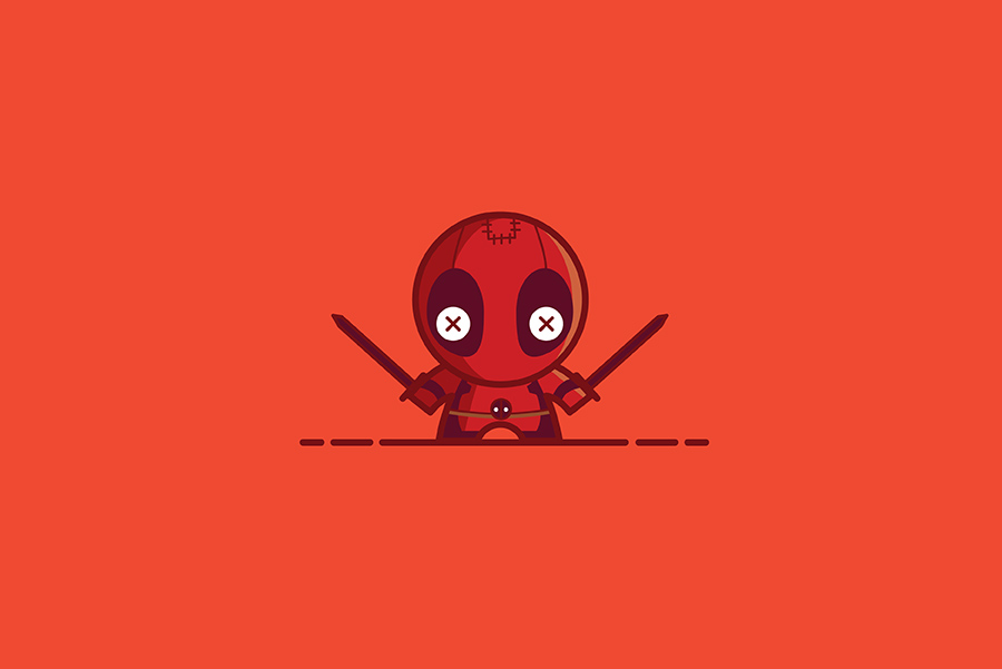 Voodoo Dolls by Sylvain Drolet - Deadpool