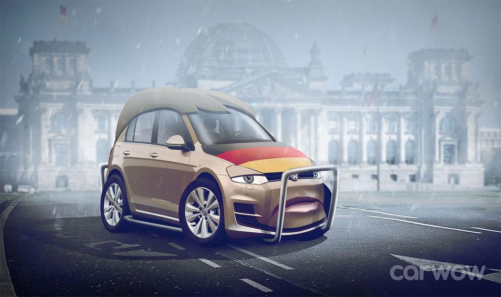 Angela Merkel – Volkswagen Golf Carwow