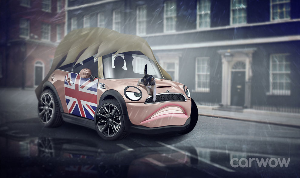 Theresa May – Mini hatchback Carwow