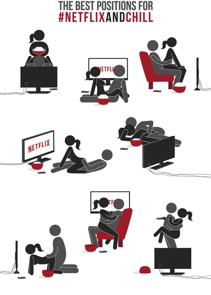 NSFW Netflix & Chill Sexstellungen