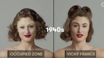 Schönheitsideale der letzten 100 Jahre in Frankreich