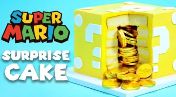 Super Mario ?-Block Kuchen