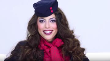Uniformen der Flugbegleiterinnen der letzten 100 Jahre