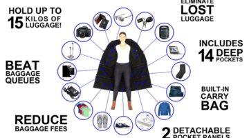 The Airport Jacket - Crowdfunding auf Kickstarter