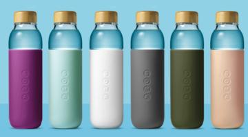 Soma - Umweltfreundlicher Designer Glasflasche