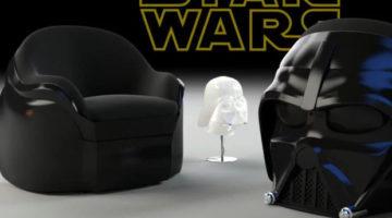Darth Vader Helm Sessel - Star Wars