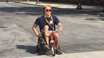 Studenten aus Georgia bauen motorisiertes Dreirad mit Hilfe einer Kettensäge