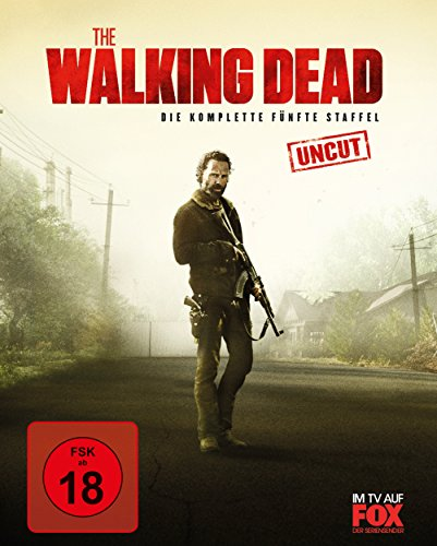 The Walking Dead - Die komplette fünfte Staffel - uncut / mit 3er Postcard Edition (exklusiv bei Amazon.de) [Blu-ray] [Limited Edition]