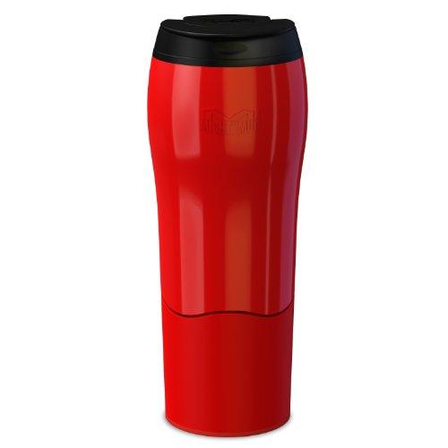 Dexam Mighty Mug Go Thermobecher, fällt nicht um, 0,47l, Rot