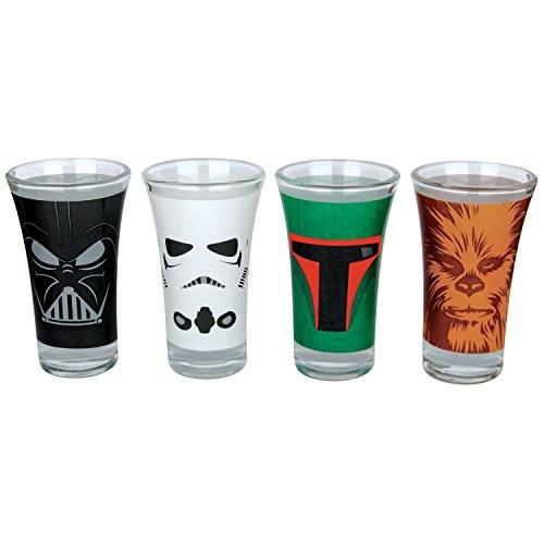Star Wars Characters Schnaps-Glas-Set Standard