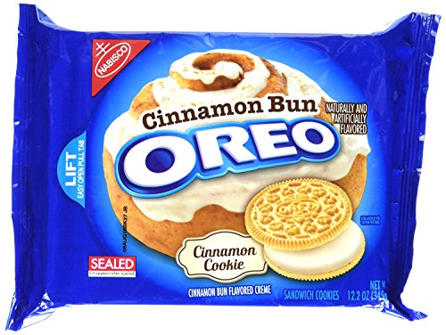 Oreo Cinnamon Bun Flavored Sandwich Cookies, 12.2 Ounce (1 pack) (Cinnamon Bun)
