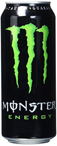 Monster Energy mit klassischem Monster-Geschmack - für gewaltige Energie/Energy Drink Palette mit 24 x 500ml Dosen