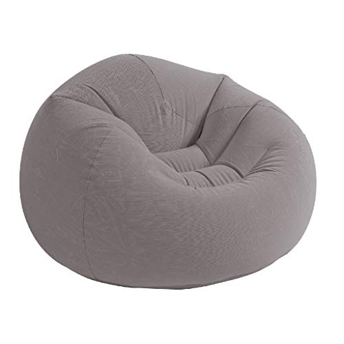 Intex 68579NP Beanless Bag Chair phthalates-free, grau, 107 x 104 x 69 cm