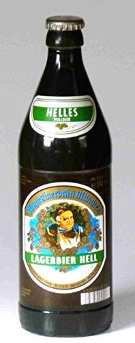 Bierkerze Augustiner Hell 0,5 l - 2001 - Ein bayerisches Bier Geschenk