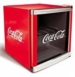 Husky HUS-CC 165 Flaschenkühlschrank Coca-Cola/A/51 cm Höhe/84 kWh/Jahr/50 L Kühlteil