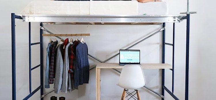 DIY Hochbett - Anleitung Hochbett