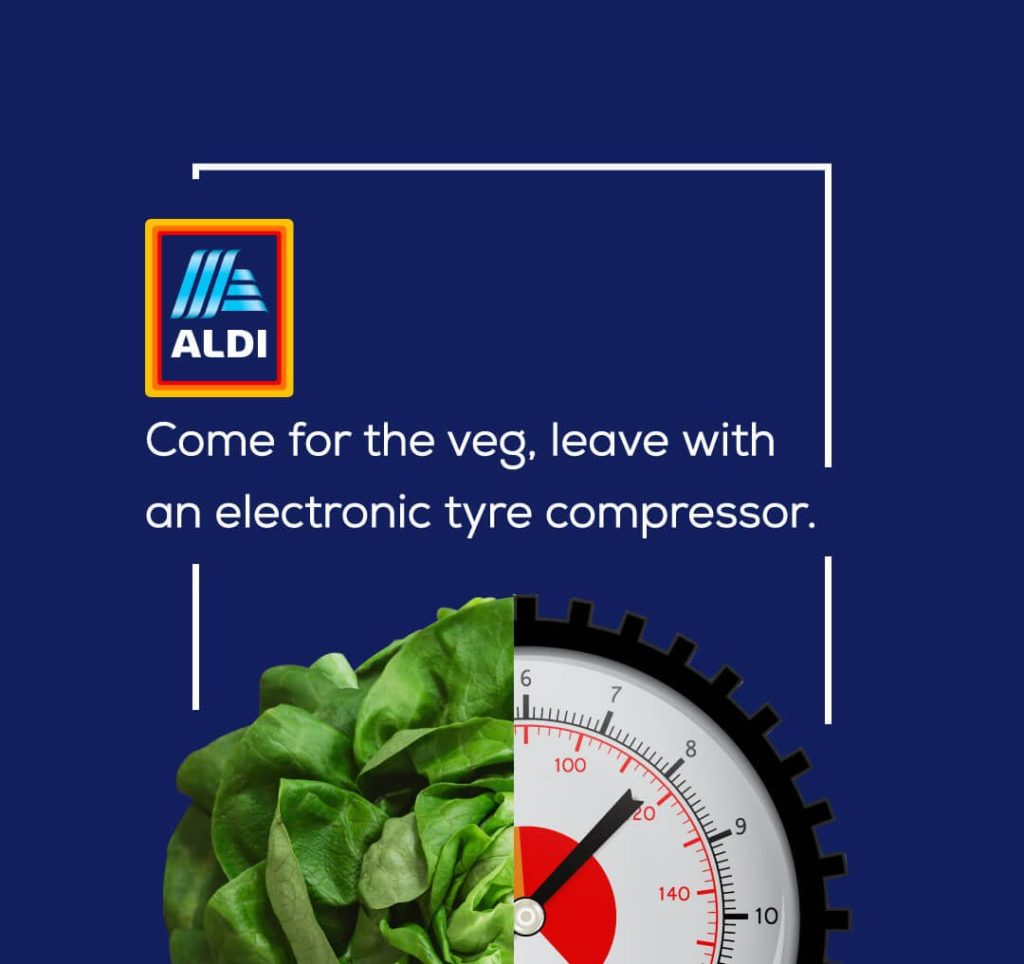 Marken und ihre ehrlichen Slogans - Aldi