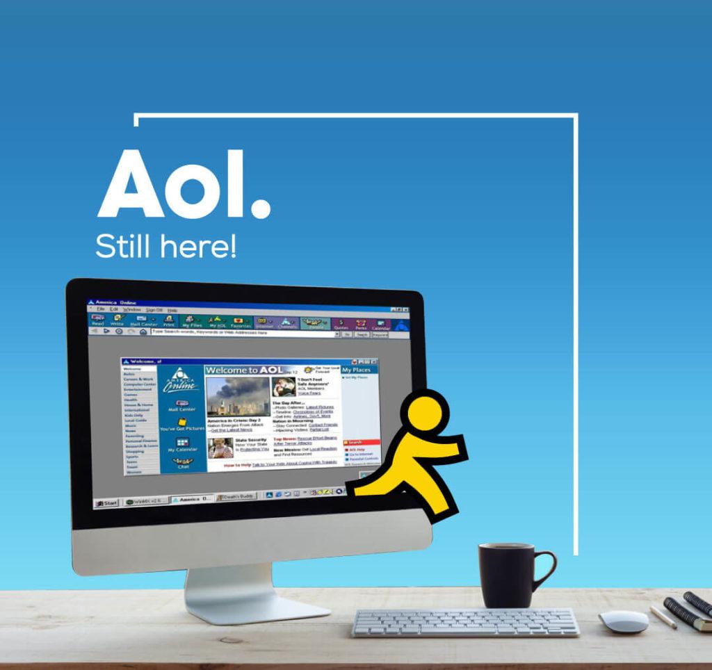 Marken und ihre ehrlichen Slogans - AOL