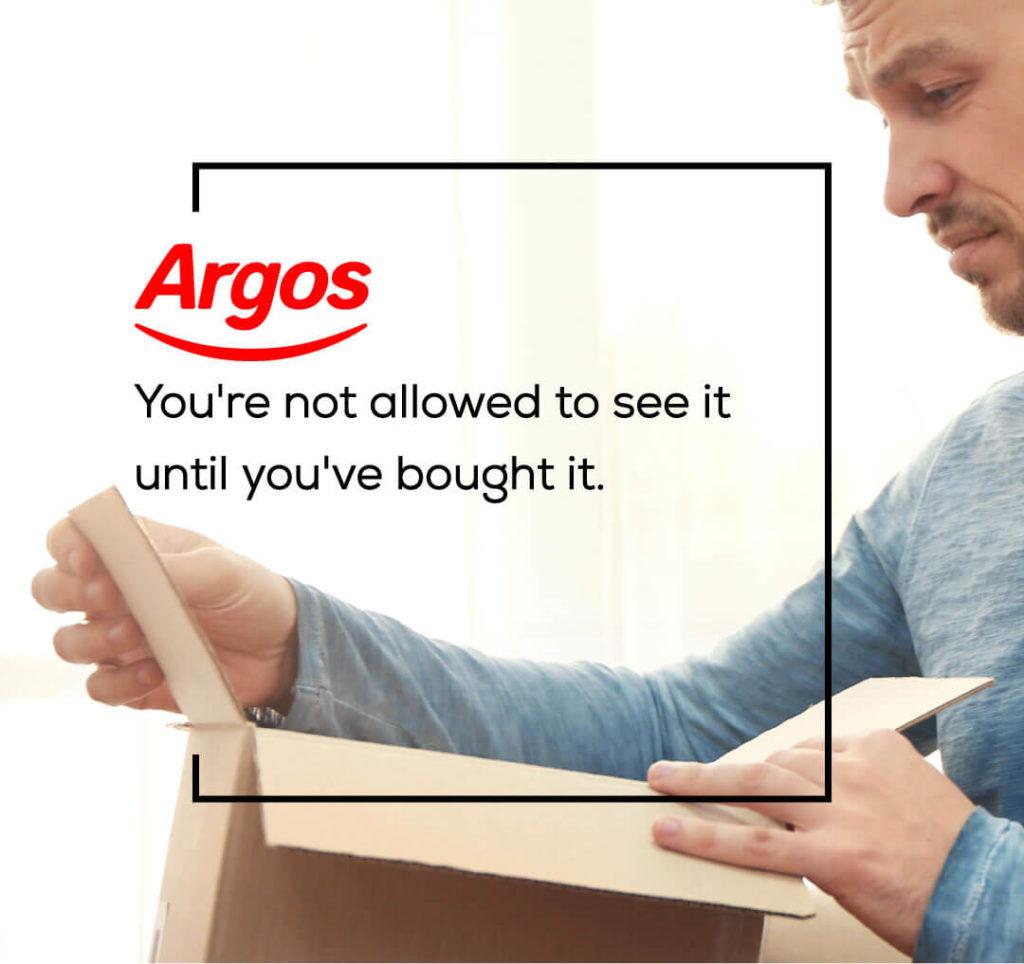 Marken und ihre ehrlichen Slogans - Argos