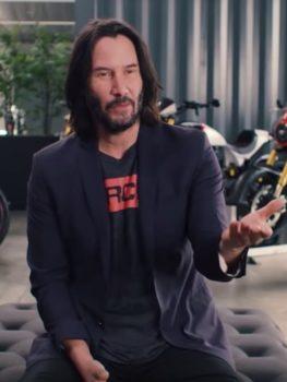 Keanu Reeves zeigt seine Motorrad Sammlung